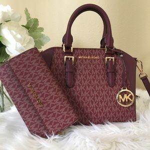Michael Kors medium Ciara messenger bag & wallet